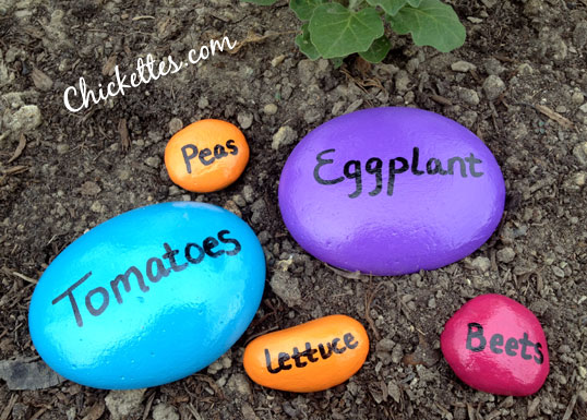 Stone Garden Markers Fun Family Crafts