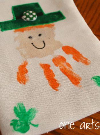 Handprint Leprechauns