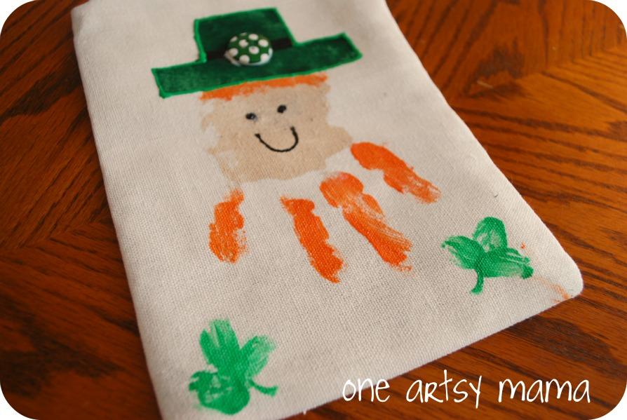 Valentine Handprint Craft