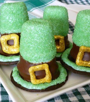 Leprechaun Hat Cupcakes