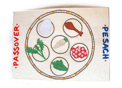 Passover Seder Placemat