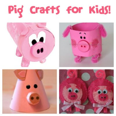 Little Pigs Craft For Toddlers