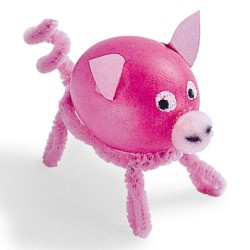 Pig Easter Egg