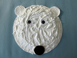 Puffy Paint Polar Bear