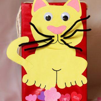 Valentines Cat Box