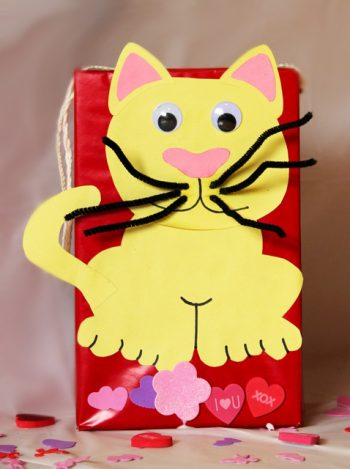 Valentines Cat Box