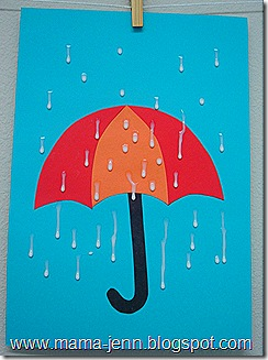 Umbrella with Raindrops  sc 1 st  Fun Family Crafts & Umbrella with Raindrops | Fun Family Crafts