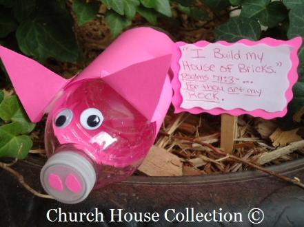 Water Bottle Pig Fun Family Crafts