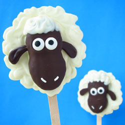 Nutter Butter Lamb Pops