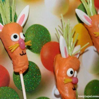 Carrot Bunny Cake Pops