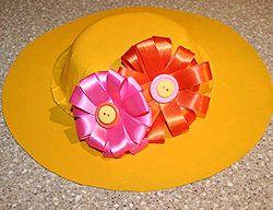 Easter Bonnet craft