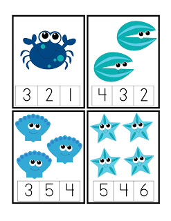 Under The Sea Printables Fun Family Crafts