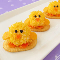Baby Chick Cheese Balls