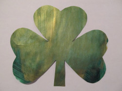 Easy Painted Shamrock