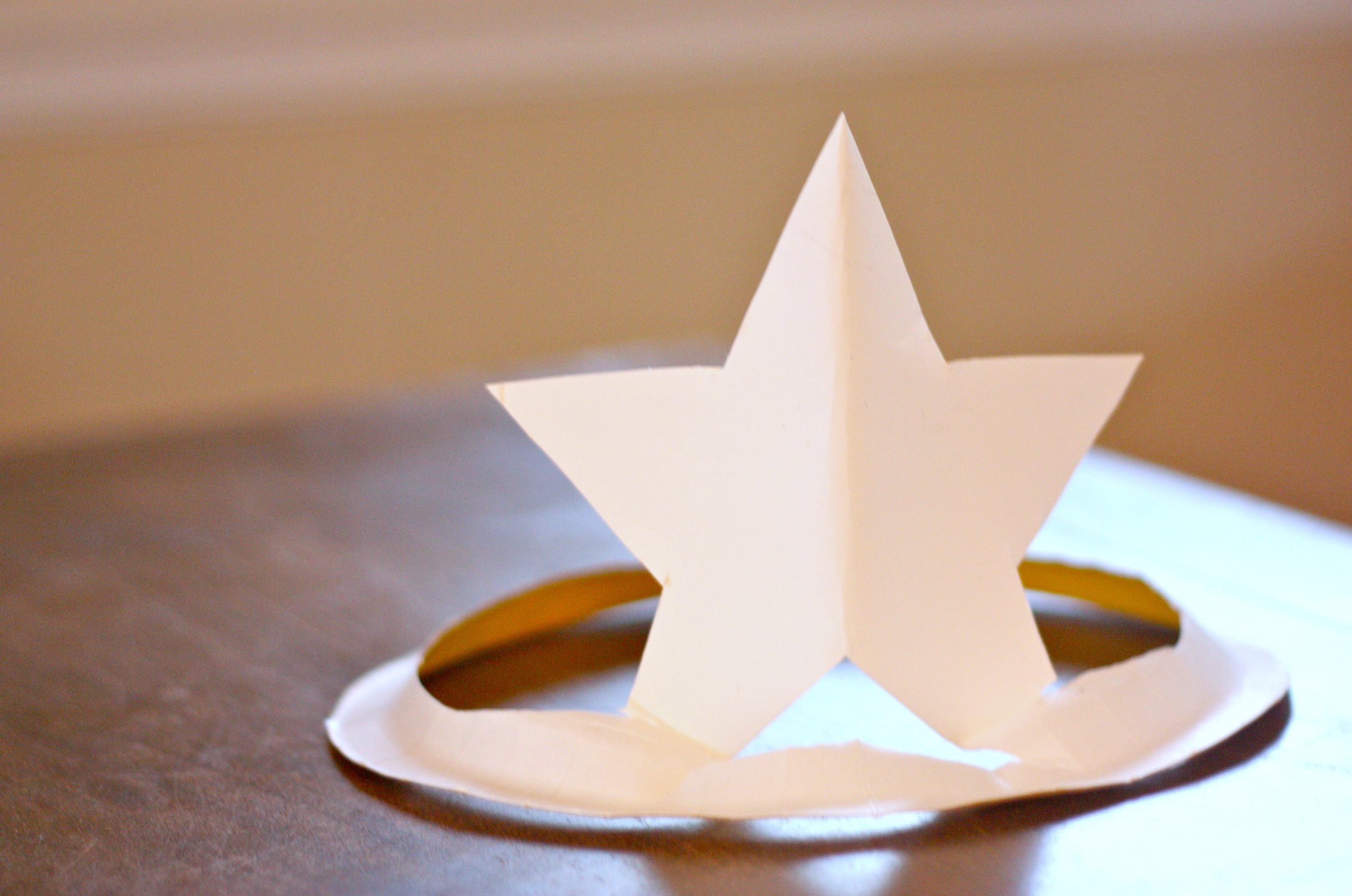 Paper Plate Star Hat Fun Family Crafts