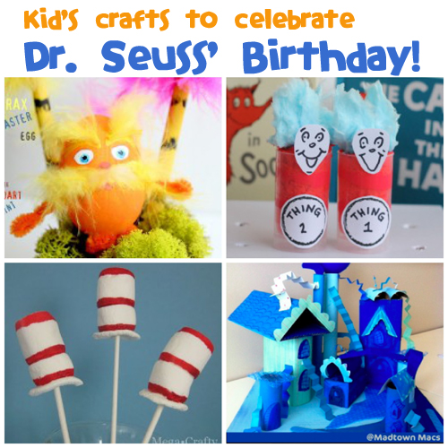 Dr. Seuss' Birthday is March 2nd!