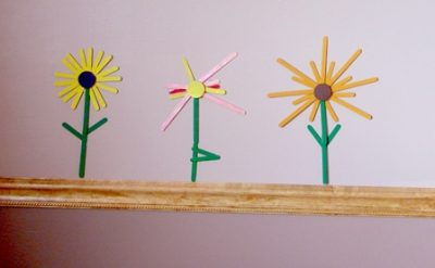 Craft Stick Flowers