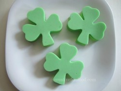 Shamrock Ice Cream Jello