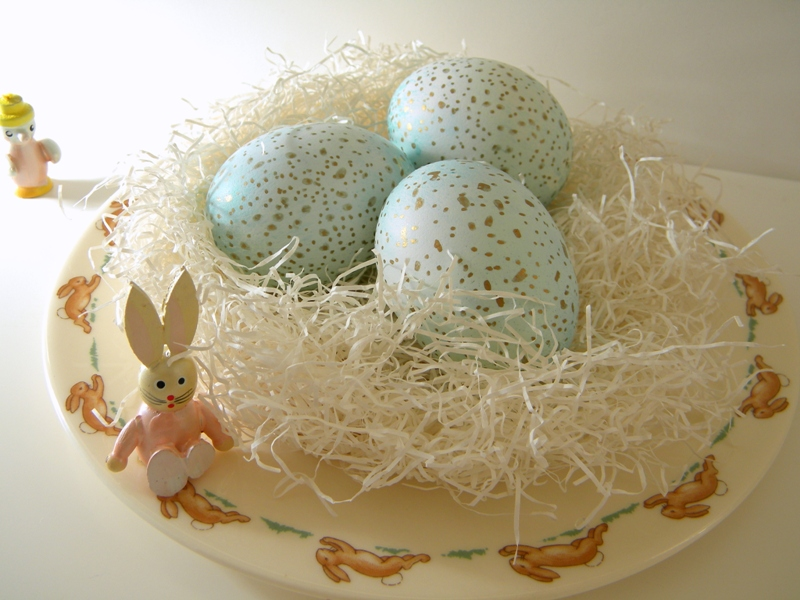 Sharpie Speckled Eggs