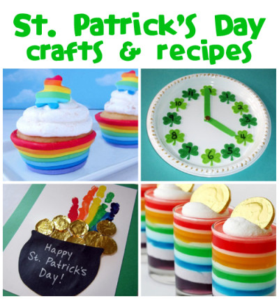 St. Patrick's Day is March 17th! Tons of ideas @funfamilycrafts