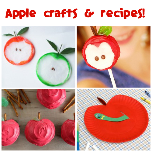 Apple Crafts and Recipes @funfamilycrafts