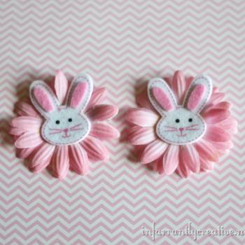 Bunny Hair Bows