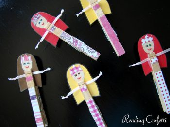 Clothespin Mermaids