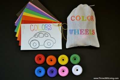 Color Matching Car Game Fun Family Crafts