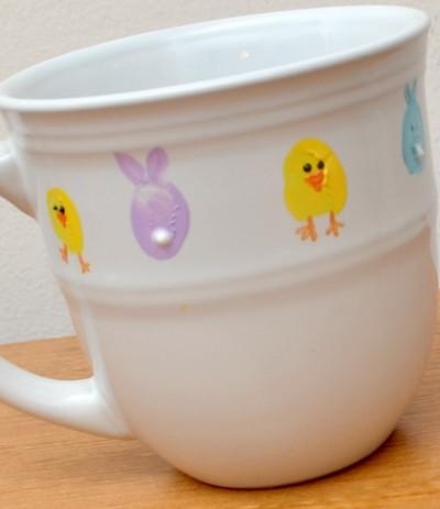 Spring Thumbprint Mug
