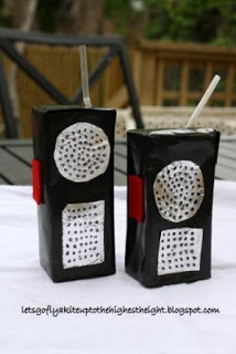 Juice Box Walkie Talkie