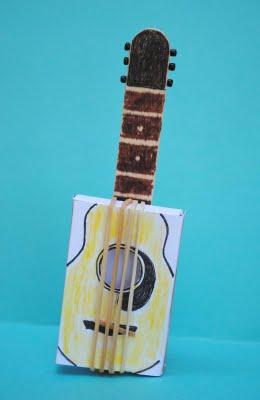 Matchbox Guitar