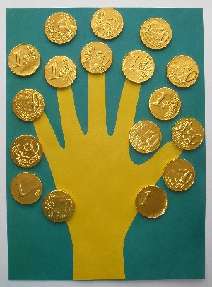 Tasty money tree craft fun family crafts for Money making craft projects