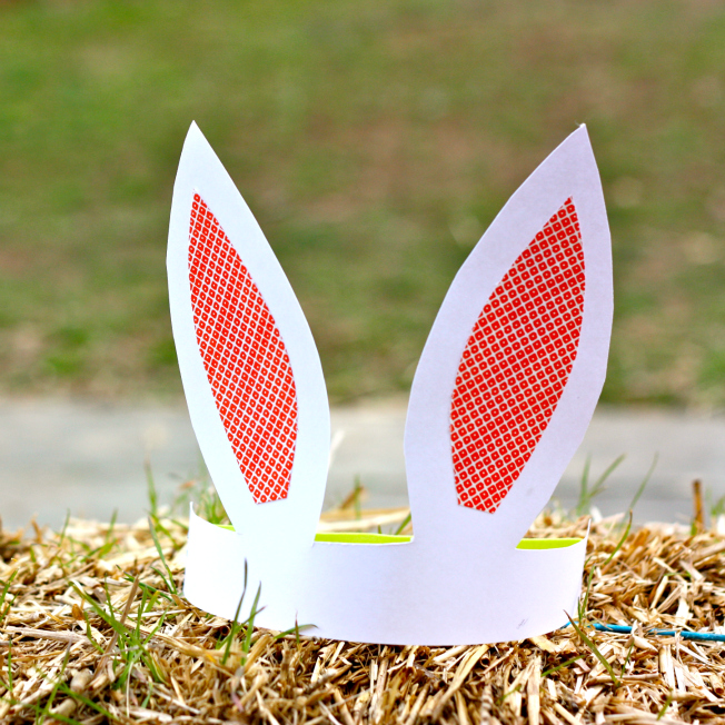 Paper Bunny Ears Fun Family Crafts