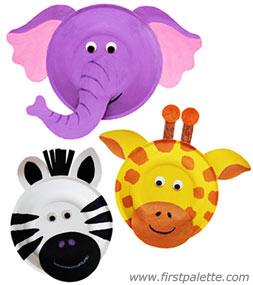 Paper Plate Animals | Fun Family Crafts