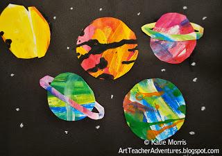 Рисунки планеты космос