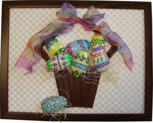Plastic Spoon Easter Basket