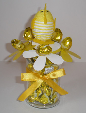Easter Candy Centerpiece