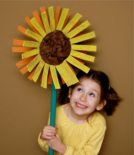 Giant Sunflower Fun Family Crafts