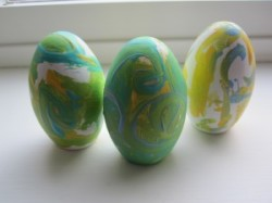 Van Gogh Easter Eggs