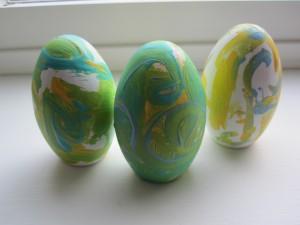 Van Gogh Easter Eggs