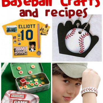 Baseball Crafts & RecipesBaseball Crafts & Recipes