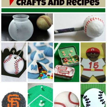 Baseball Crafts and Recipes