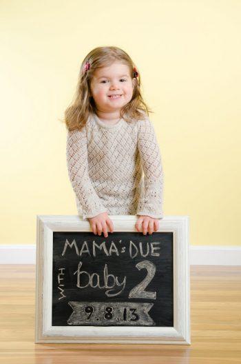 Easy DIY Chalkboard Frame