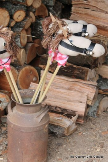 Sock Stick Horses
