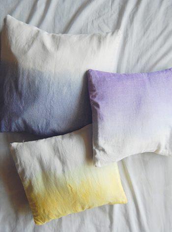 Dip Dye Pillow Covers