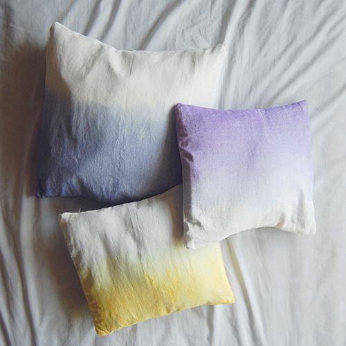 Dip Dye Pillow Covers