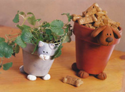 Dog and Cat Pots