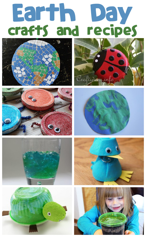 Earth Day Crafts Amp Recipes Fun Family Crafts