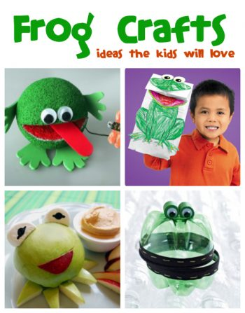 Frog Crafts for Kids that your kids will love from @funfamilycrafts