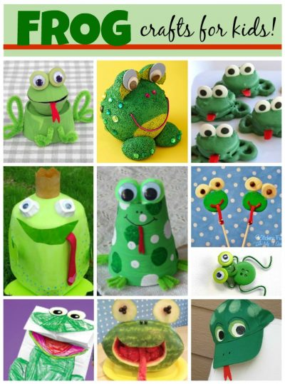 frog crafts for kids